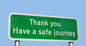 Thank you - Have a safe journey