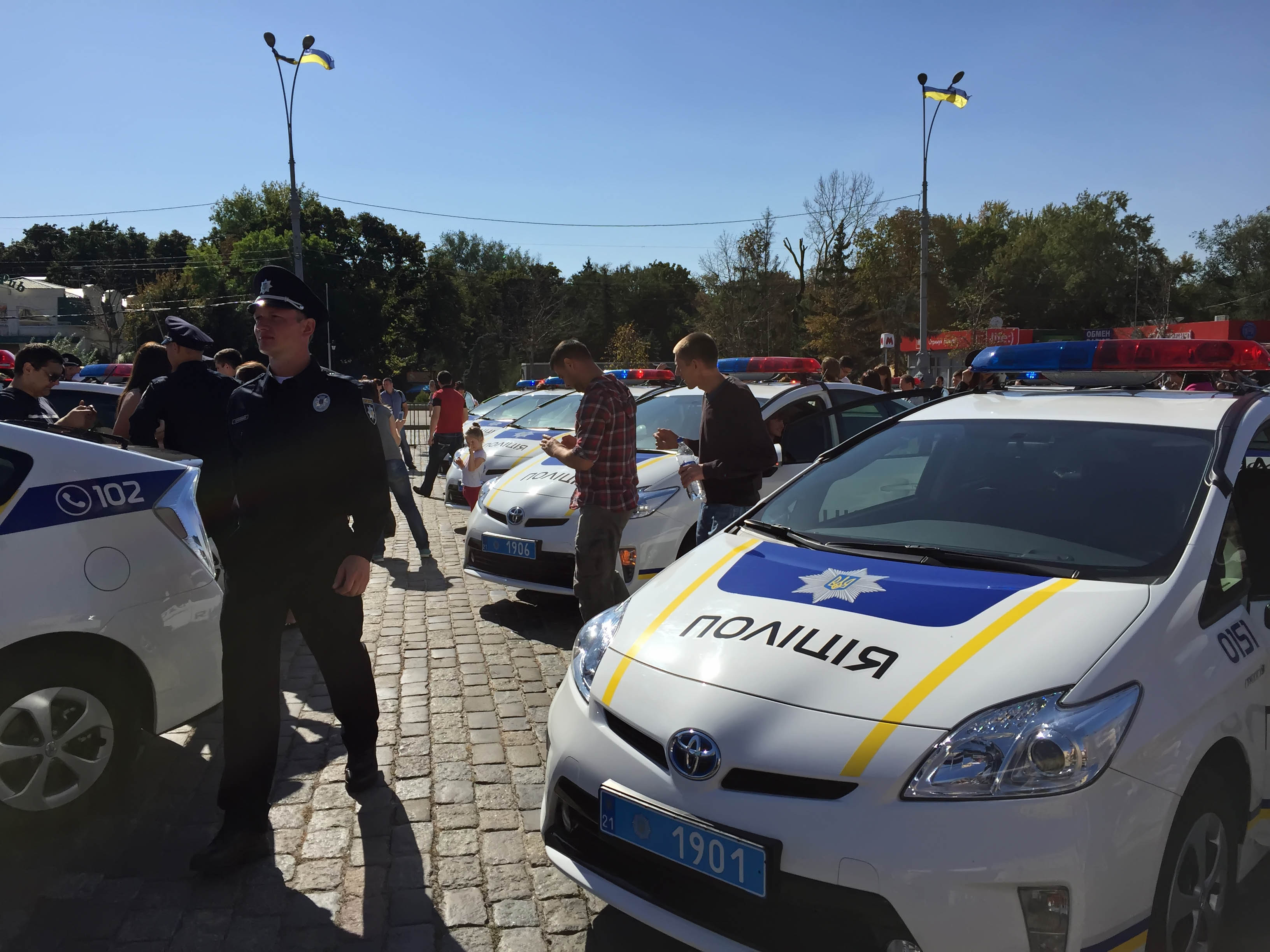 Kharkiv, new police, 26th September 2015