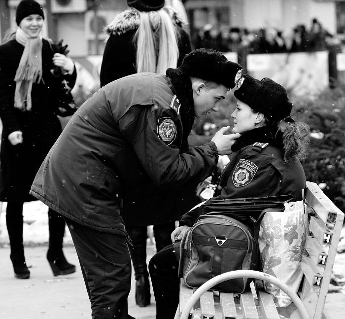 Armen Doluhanyian. Couple Policemen