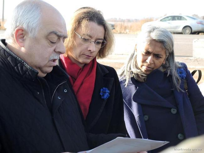 Photo from delegfrance-osce.org and kharkivoda.gov.ua