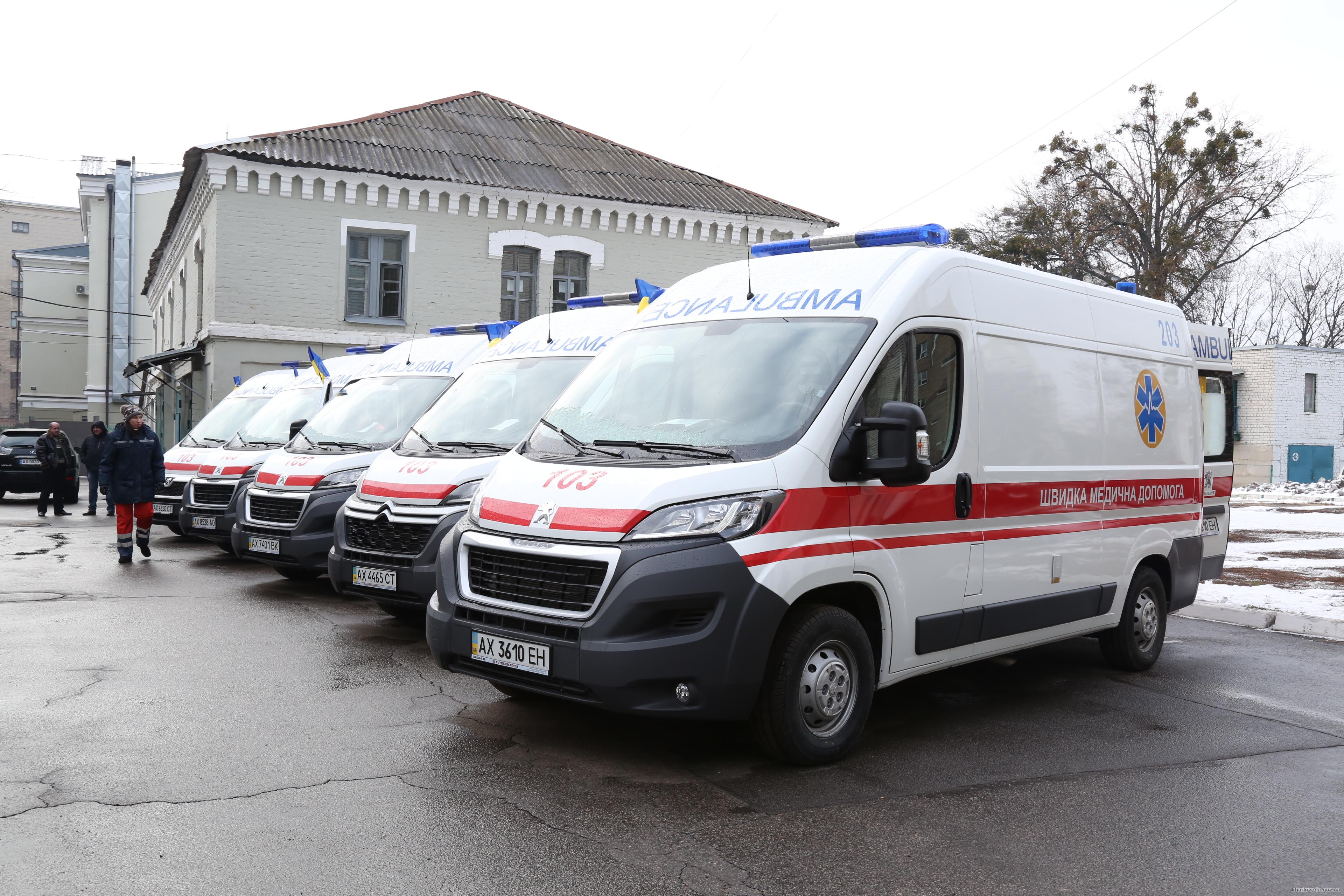 Center of Emergency Medical Care received 15 new ambulance ...