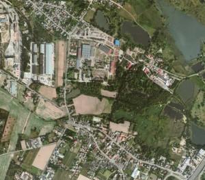new satellite image of Kharkiv